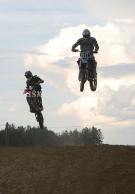 Championnat de Moto-Cross à Jancigny