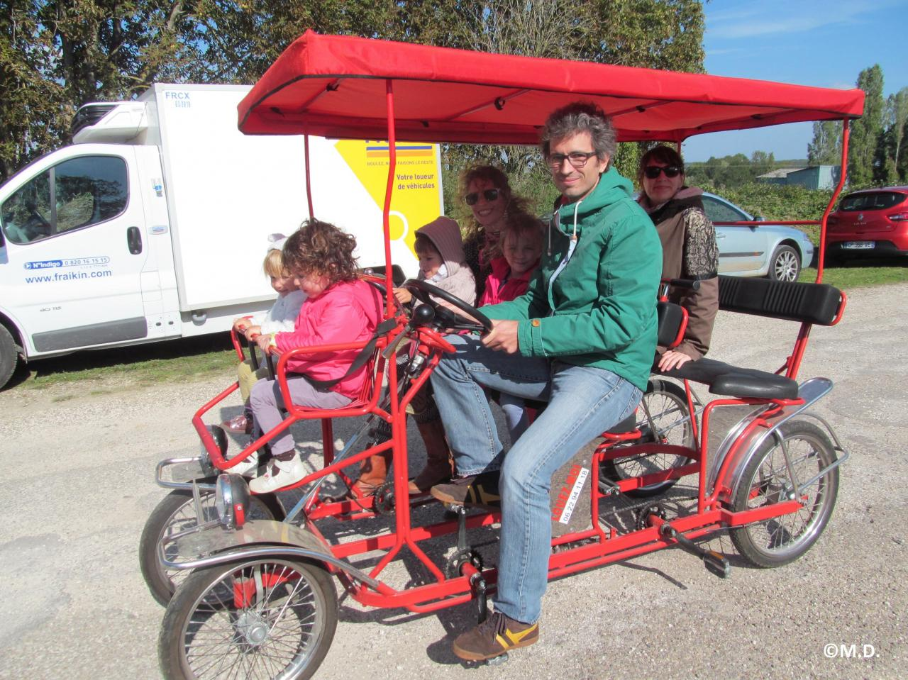 Fantastic Picnic Cyclic au Vélorail 27.09.15