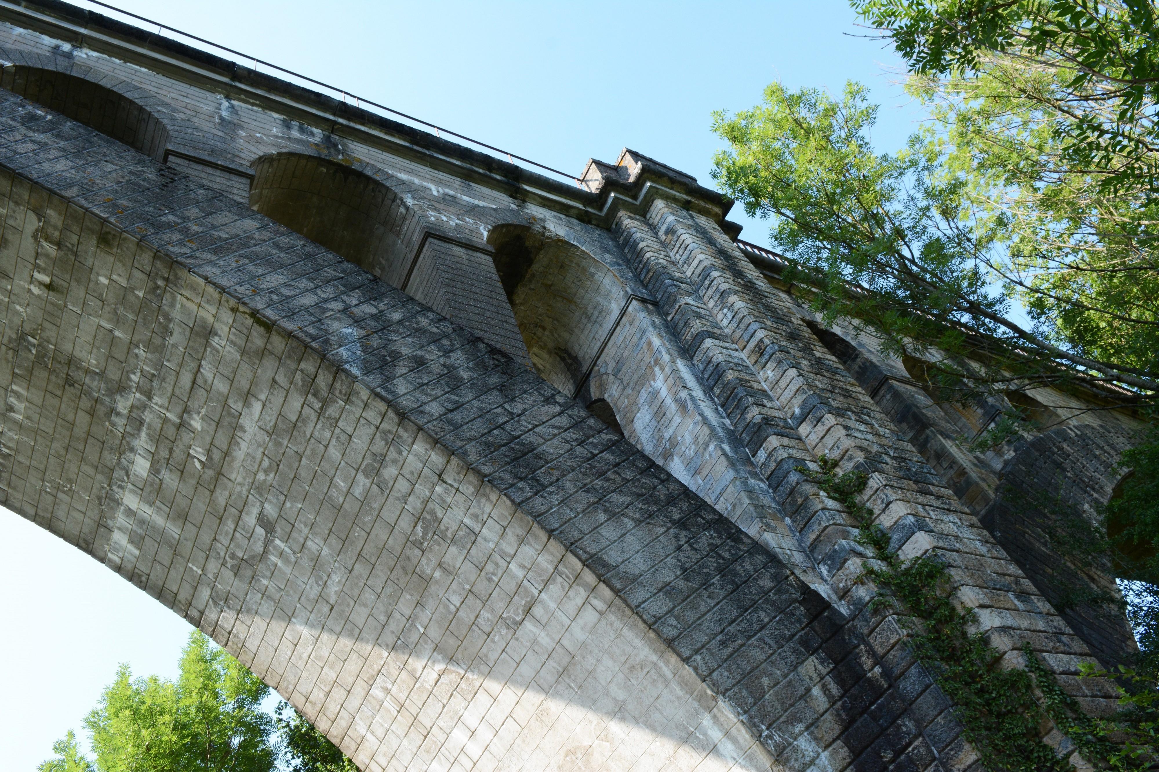 Sous le viaduc d'Oisilly ©R. Krebel