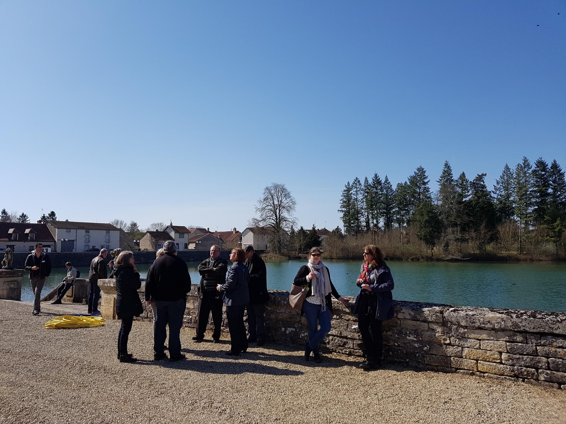 Visite des jardins du Château de Fontaine Française en autonomie
