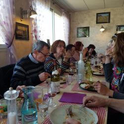 Repas au restaurant L'Entre Pot (Fontaine Française)