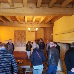 Visite guidée du Château de Rosières (St Seine sur Vingeanne) par son propriétaire M. Bergerot