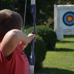 Le tir à l'arc a connu un franc succès !