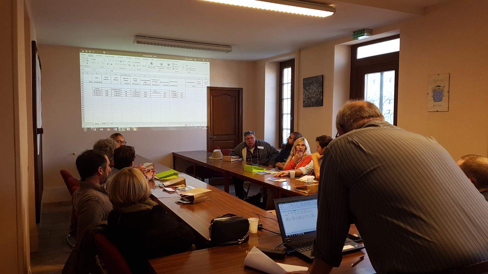 Café d'accueil et présentation des projets de la commune de Bèze