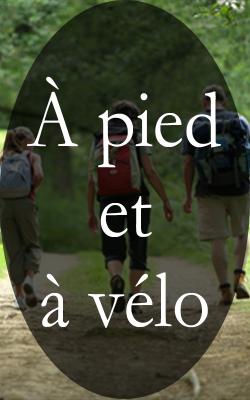A pied et à vélo