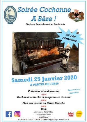 Affiche 20soir c3 a9e 20cochonne 20renardeau 2025 01 20 1
