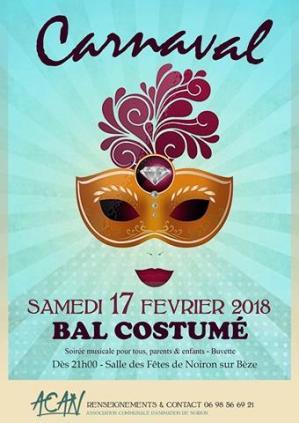 Affiche carnaval acan 17 02 18