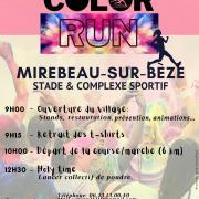 Affiche color run 03 10 21