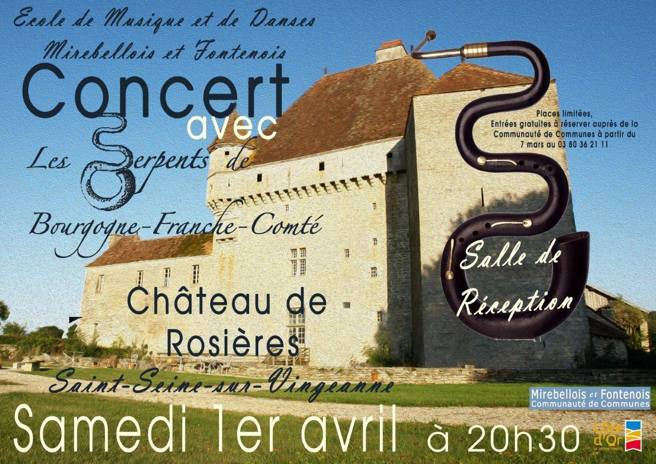 Affiche concert de rosieres 01 04 17