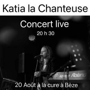 Affiche concert katia beze 20 08 21