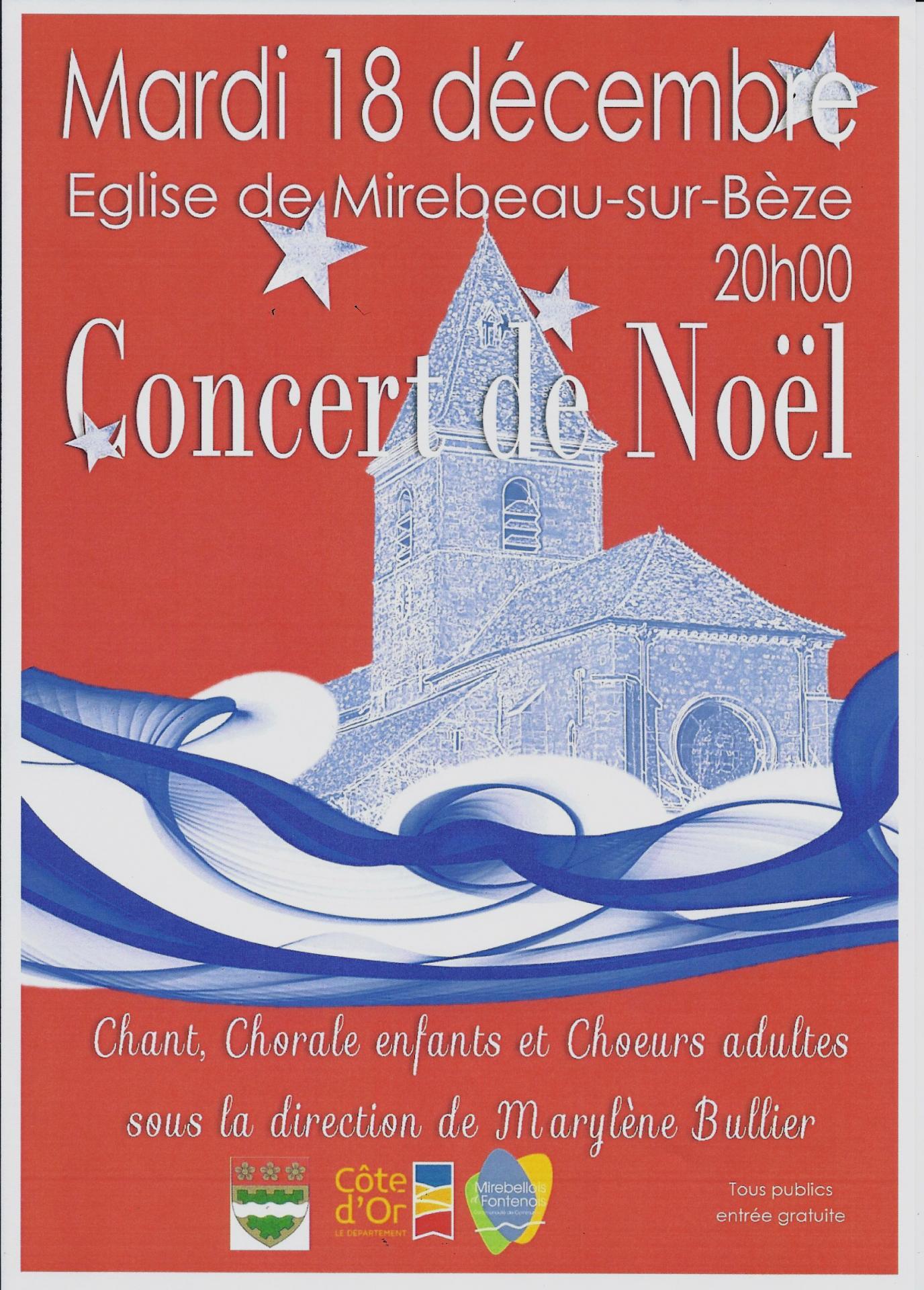 Affiche concert noel e3a 18 12 18