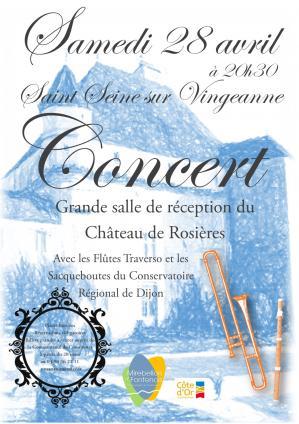 Affiche concert rosieres 28 04 18