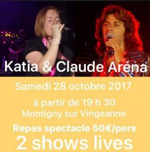 Affiche concerts katia 28 10 17