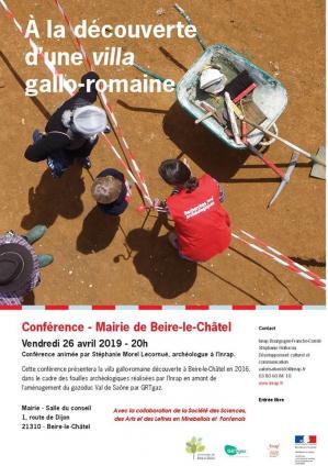 Affiche conference inrap sct sciences mf 26 04 19