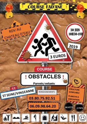 Affiche course fadane 30 06 19