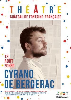 Affiche cyrano chateau ff 13 08 21