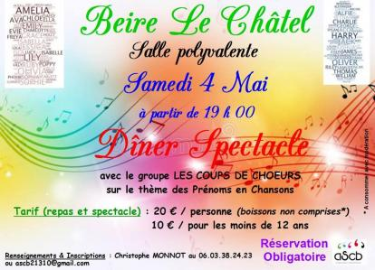 Affiche diner spectacle ascb 04 05 19