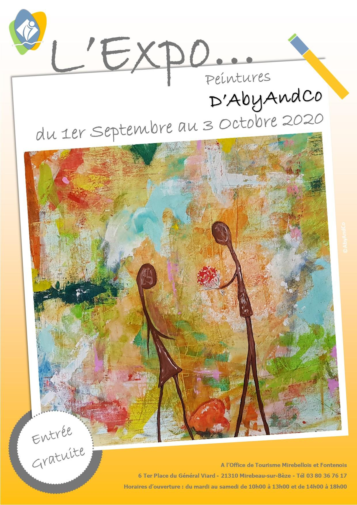 Affiche expo abyandco