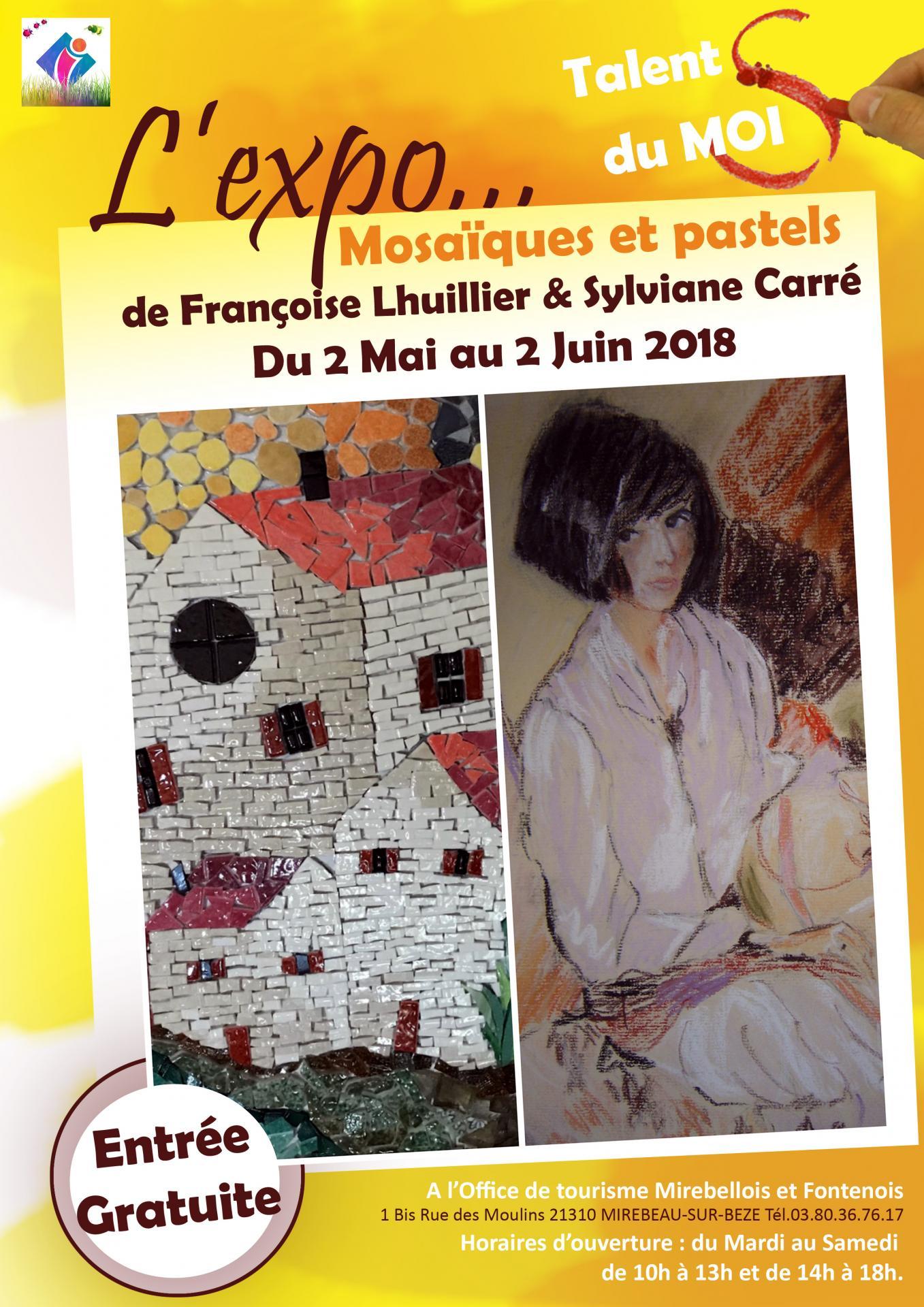 Affiche expo carre lhuillier