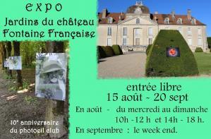 Affiche expo club photoeil 15 08 20 20 09 20