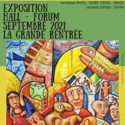 Affiche expo mario chichorro forum sept 2021