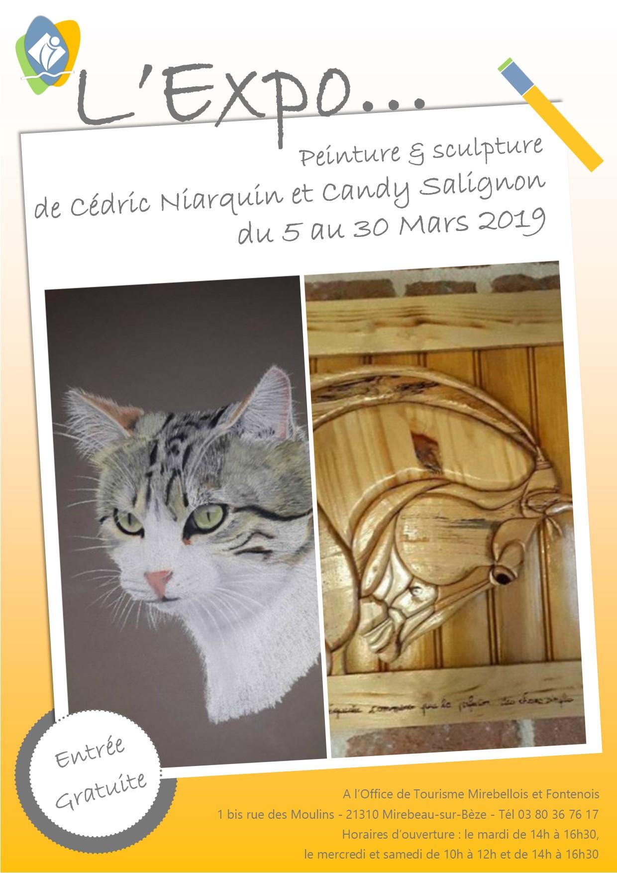 Affiche expo niarquin salignon