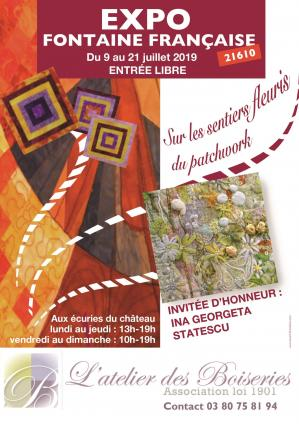 Affiche expo patchworks ff 9 21 07 19