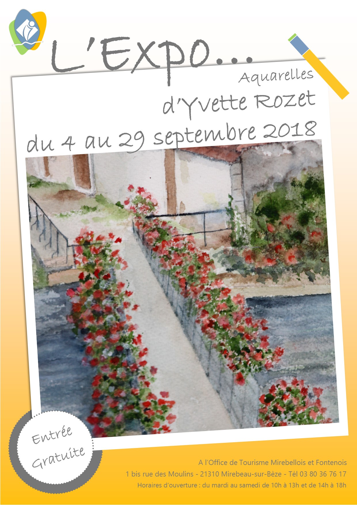 Affiche expo rozet sept 18