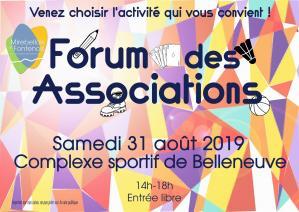 Affiche forum des assos 31 08 19