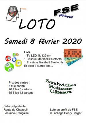 Affiche loto fse 08 02 20
