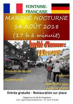 Affiche marchenocturne 2018