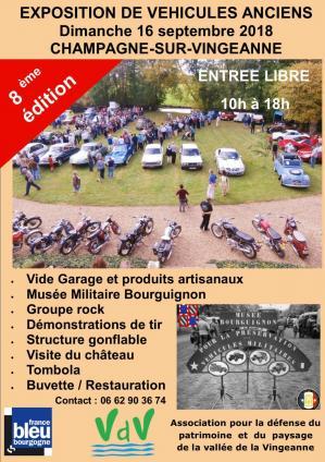 Affiche retromobile 16 09 18