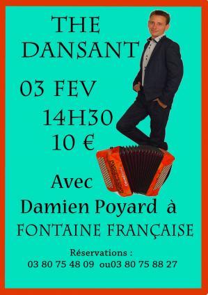 Affiche the dansant ff 03 02 18