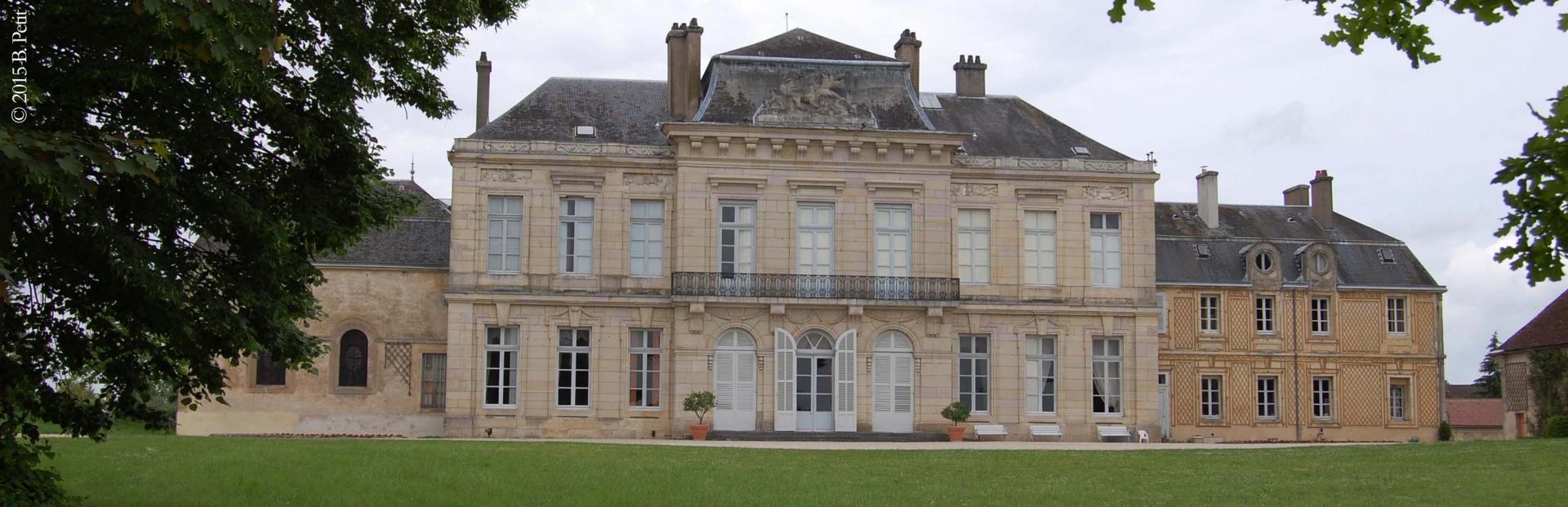 Le château d'Arcelot