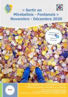 Couv agenda des manifestations nov dec 2020