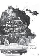 Livret hébergement restauration Val de Saône Vingeanne 2015