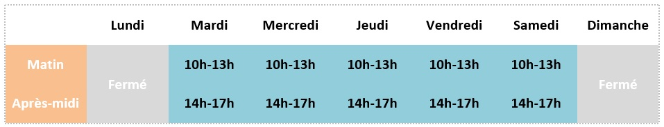 Horaires mirebeau ete grossesse md