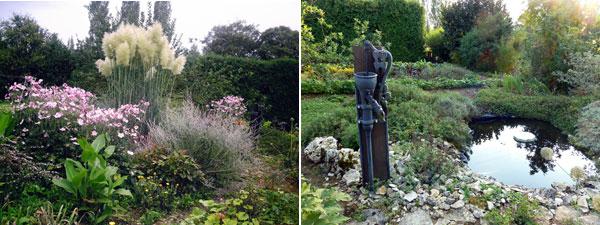 Illustration jardin a la croisee des sens fontaine francaise 1