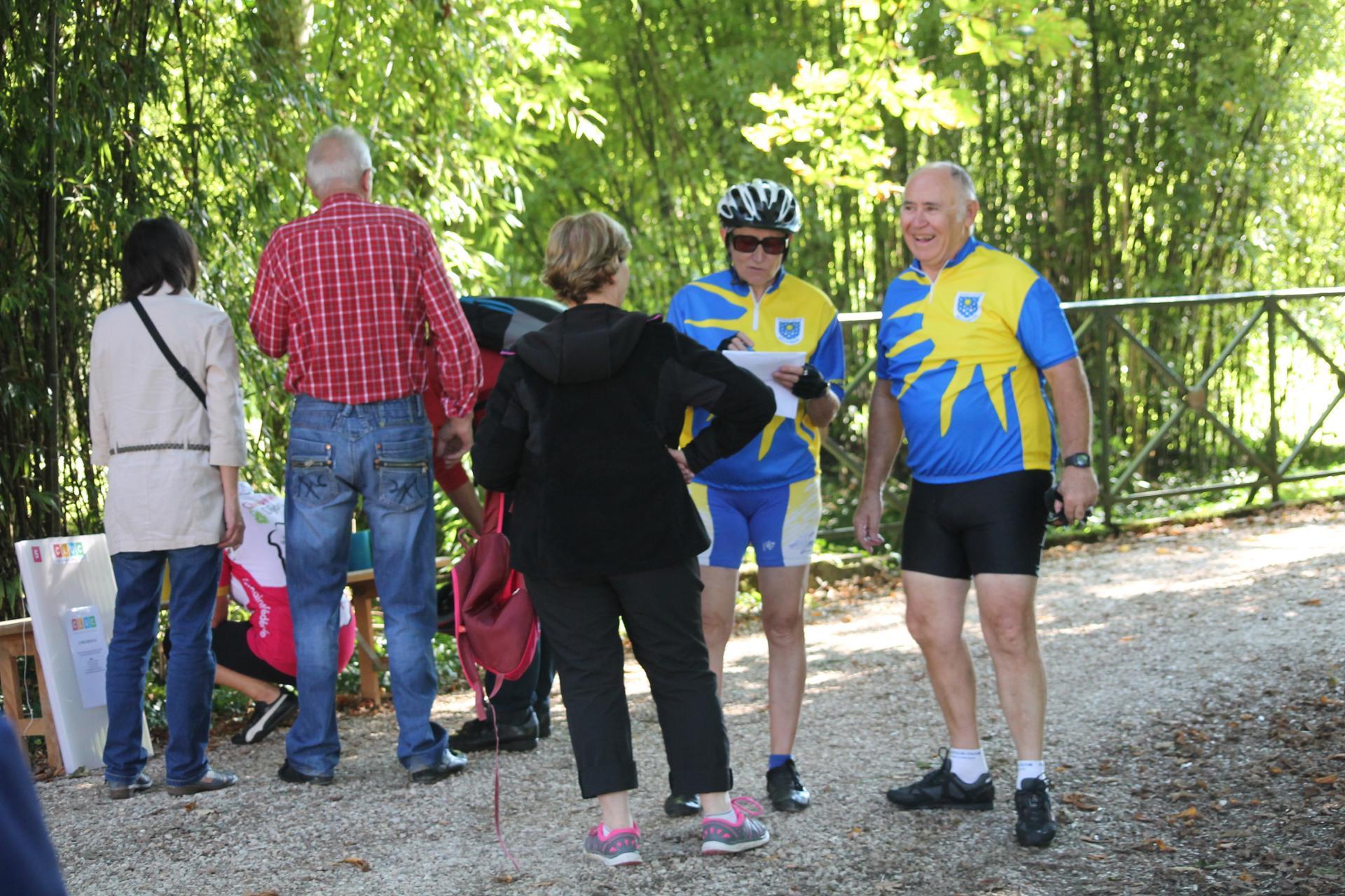 Cyclistes et promeneurs s'étaient donné rendez-vous
