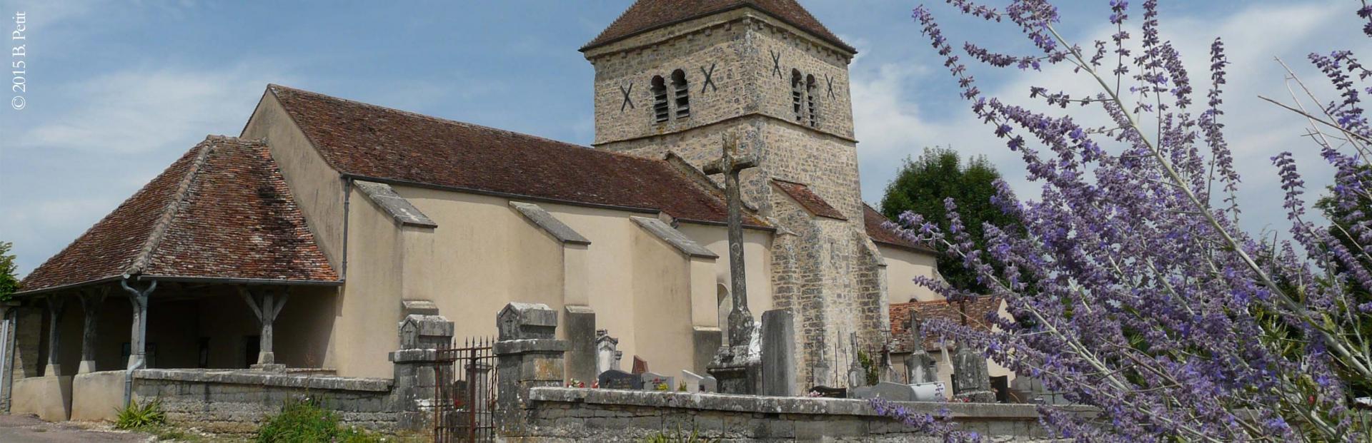 L'église de Oisilly