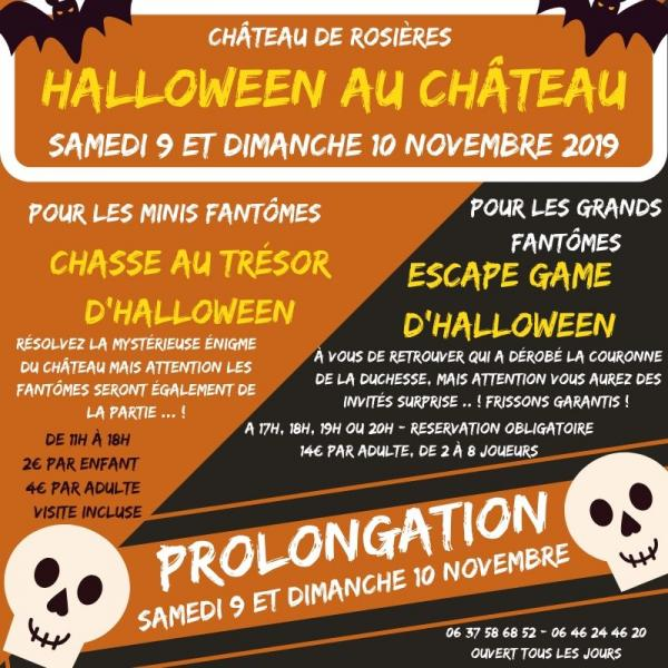 Prolongation halloween 12