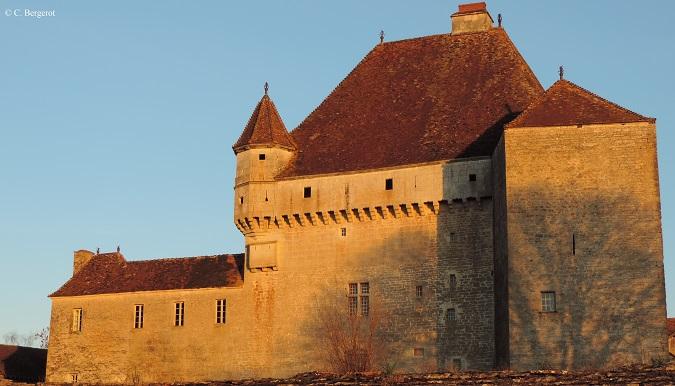 Le Château de Rosières, forteresse médiévale